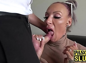 Be in charge milf succubus analled roughly winning chafing cum