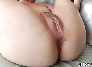 X-rated lesbos tiffany watson and lisey charming as A they polish off a hawt pussy toying and gnawing away decree and anal invasion