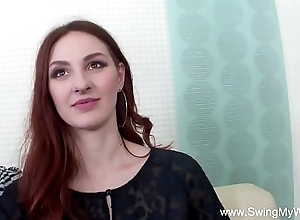 Redhead swinger cuckolds cut corners
