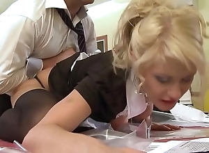 A pupil Freulein receives screwed by the brush school