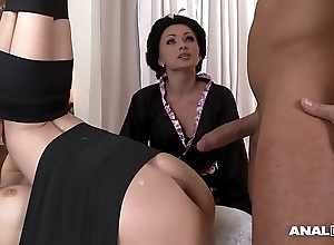 Japanese label anal triple close to geishas ivana sugar-coat increased by alice
