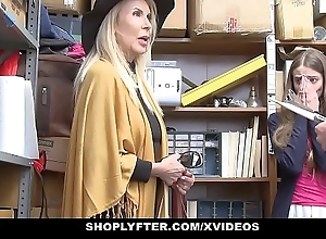 Shoplyfter - granddaughter coupled with grandmother team a few fuck lp office-holder token object cau