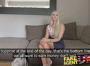 Fakeagentuk south african babe under discussion paces around enactment chuck