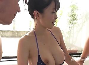 Domineer oriental boobjon vulnerable neat threesome