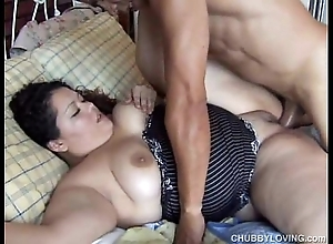 Cute chubby lalin girl vanessa enjoys a facial ejaculation
