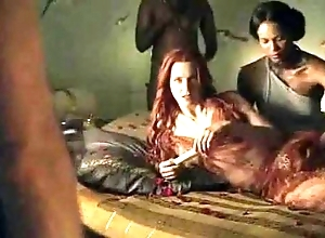 Spartacus - bonzer intercourse scenes (anal, orgy, lesbian)