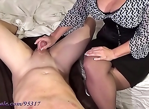 Prexy milf milks boy