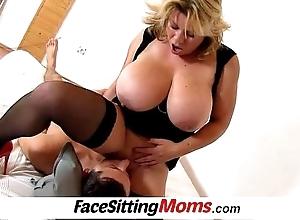 Huge titties mom silvy vee rug munch nearby a pal