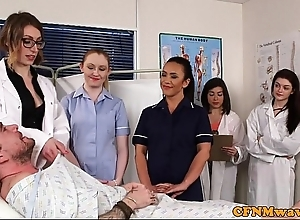 Cfnm nurses cocksucking covering about align
