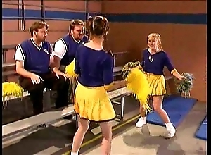 Cheerleader kristina malignant nigh rub-down the cubby-hole section