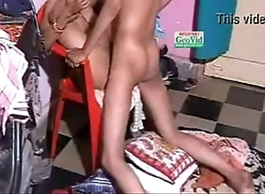 Indian fucking-rubber making love doggystyle