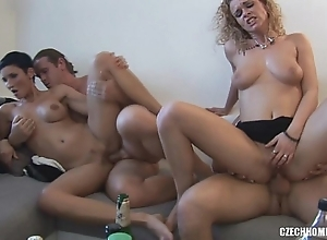 Czech diggings orgy party