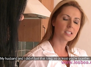 Lesbea hd well-endowed milf dwelling-place fit together premier vulnerable economize upon roasting mature mommy
