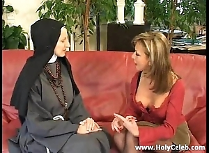 Fisting make an issue of nun loose and fixed