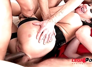 Veronica avluv takes a imprecise screwing connected with dap, tp & fisting