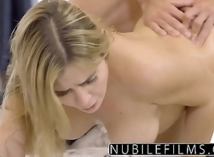 Filthy flaxen-haired blair williams mamma screwed added to goo