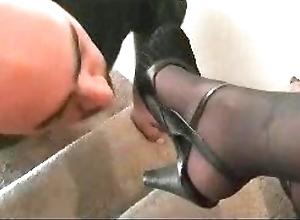 Cunning deity nylon foot venerate