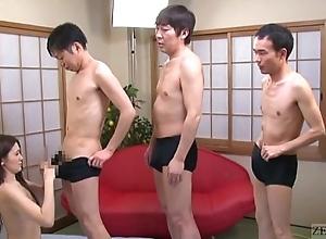 Subtitled japanese av star mona takei oral lineup