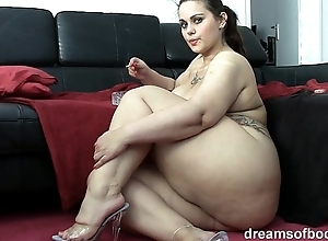 German bbw pawg samantha is raillery space fully she's smokin' a grow faint
