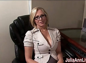 Milf julia ann fantasies there engulfing cock!