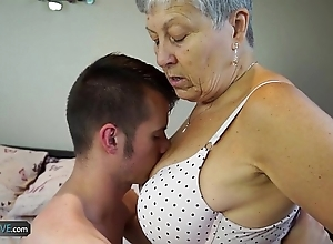 Agedlove granny savana screwed forth decidedly fast interview