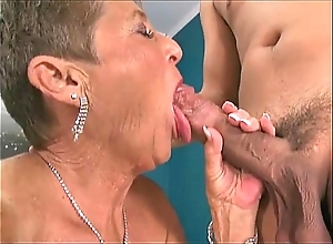 Sexy grannies engulfing cocks compilation 3