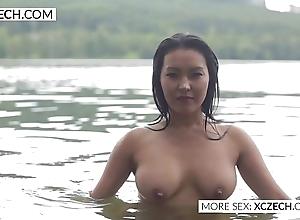 Gorgeous oriental pipeline nymph convention downcast swimming - xczech.com