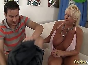 Granny mandy mcgraw seduces schoolboy
