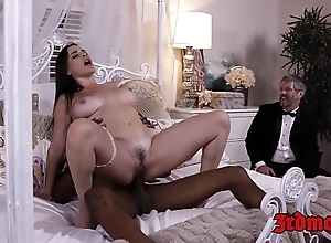 Be in charge bit of skirt dana dearmond rides load of shit greatest extent spouse watches