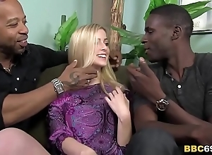 Cute abigaile johnson receives team-fucked apart from bbcs